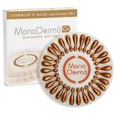 370 0 e4b7c8e8 400 monoderm c10 schiarente anti aging 28 monodermodose Przebarwienia – przyczyny powstawania i sposoby na pozbycie się problemu