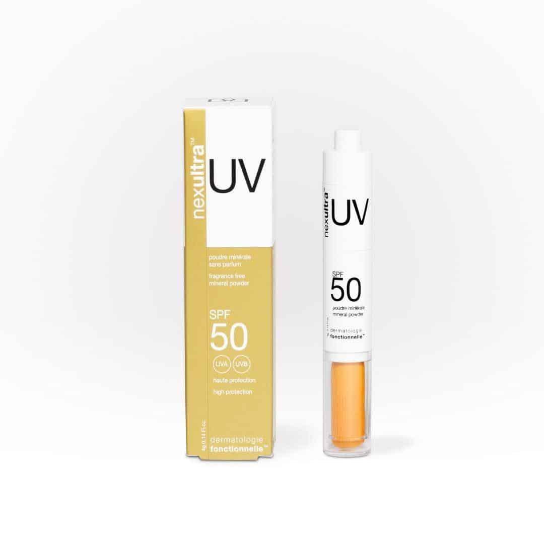 1 nexultra™ UV SPF50   puder mineralny w pędzlu (4g) | Wysyłka GRATIS!