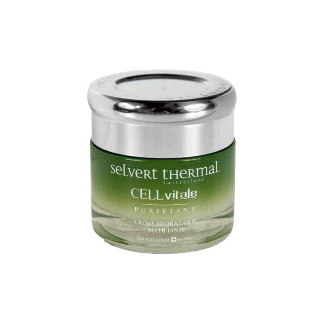 17 2 Selvert Thermal CELLvitale Anti Shine Hydrating And Mattifying Cream 50ml | Wysyłka GRATIS!
