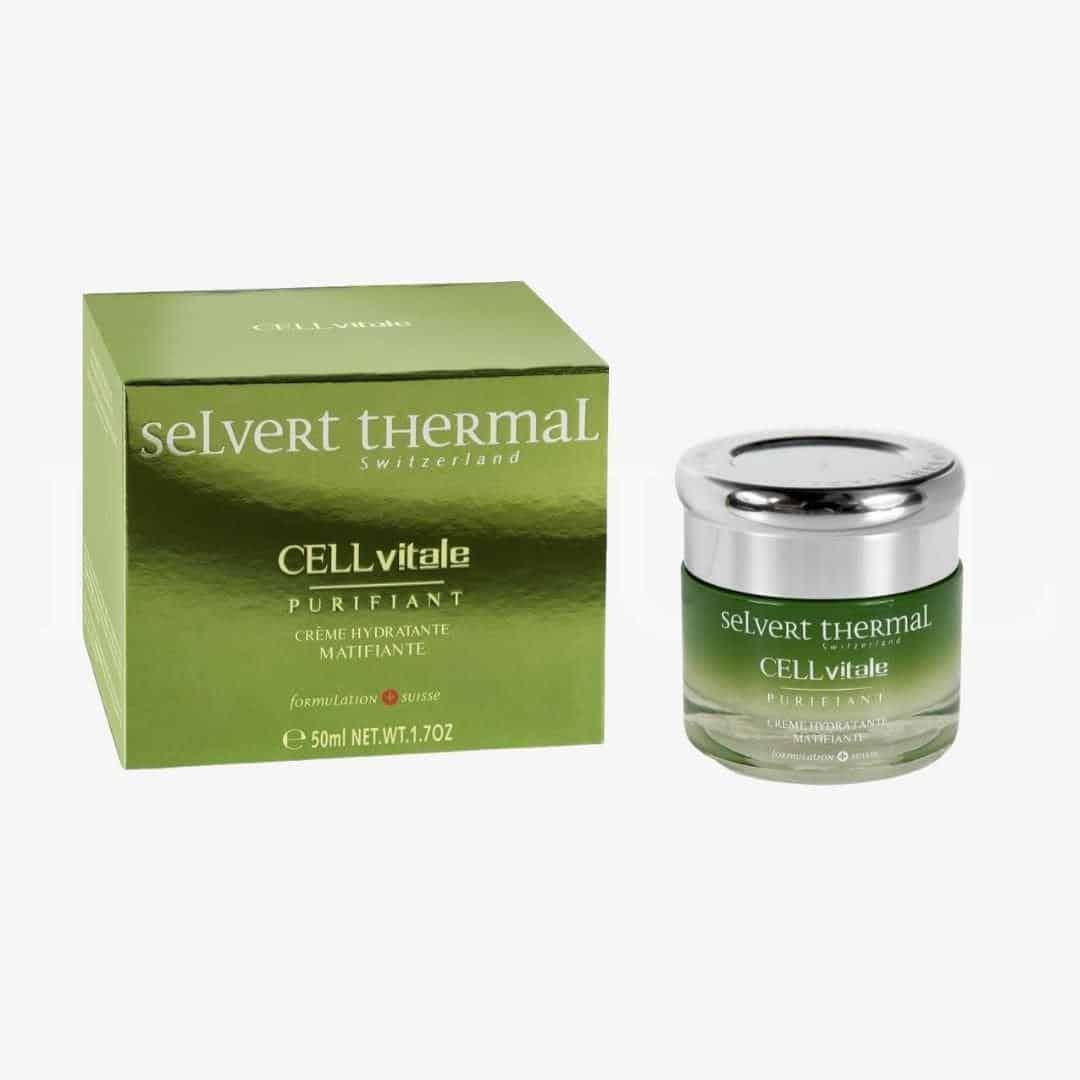 19 2 Selvert Thermal CELLvitale Anti Shine Hydrating And Mattifying Cream 50ml   Wysyłka GRATIS!