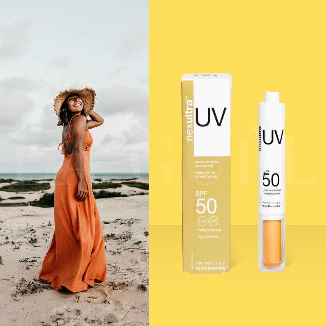 2 3 nexultra™ UV SPF50   puder mineralny w pędzlu (4g) | Wysyłka GRATIS!