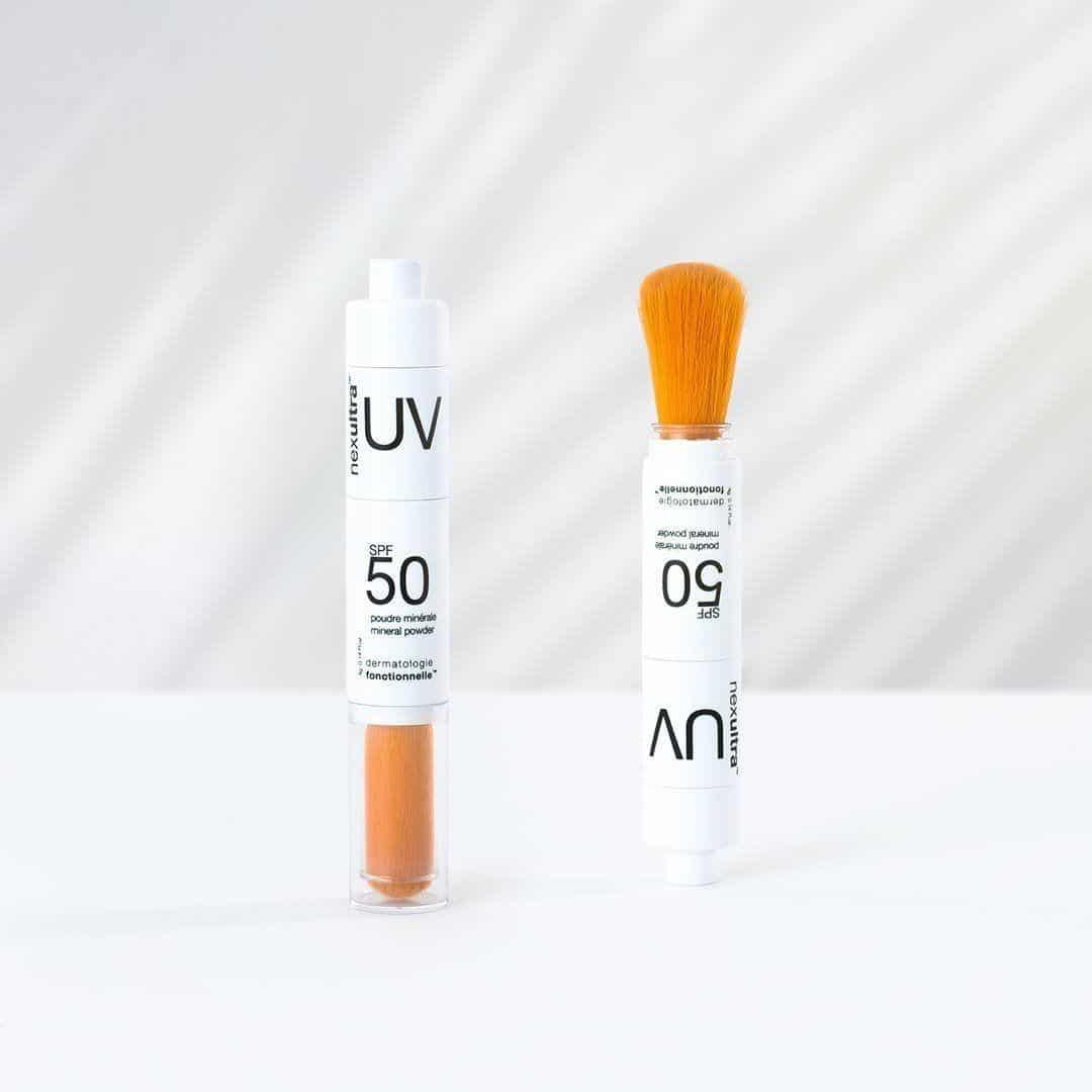 3 2 nexultra™ UV SPF50   puder mineralny w pędzlu (4g) | Wysyłka GRATIS!