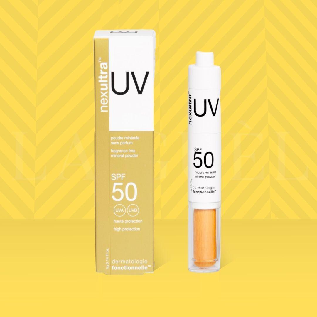 UV Yellow nexultra™ UV SPF50   puder mineralny w pędzlu (4g) | Wysyłka GRATIS!