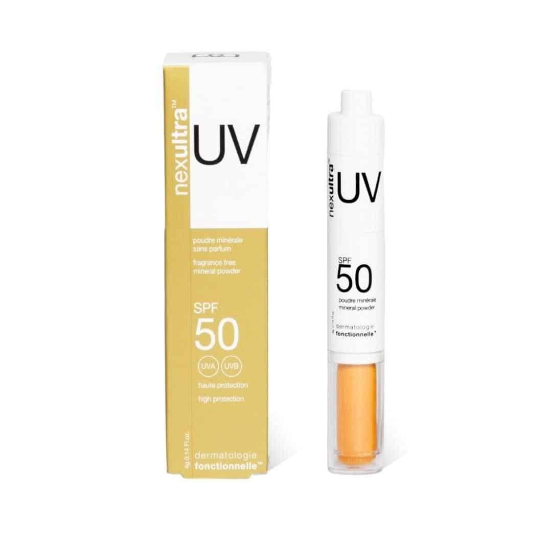 nexultra uv nexultra™ UV SPF50   puder mineralny w pędzlu (4g) | Wysyłka GRATIS!
