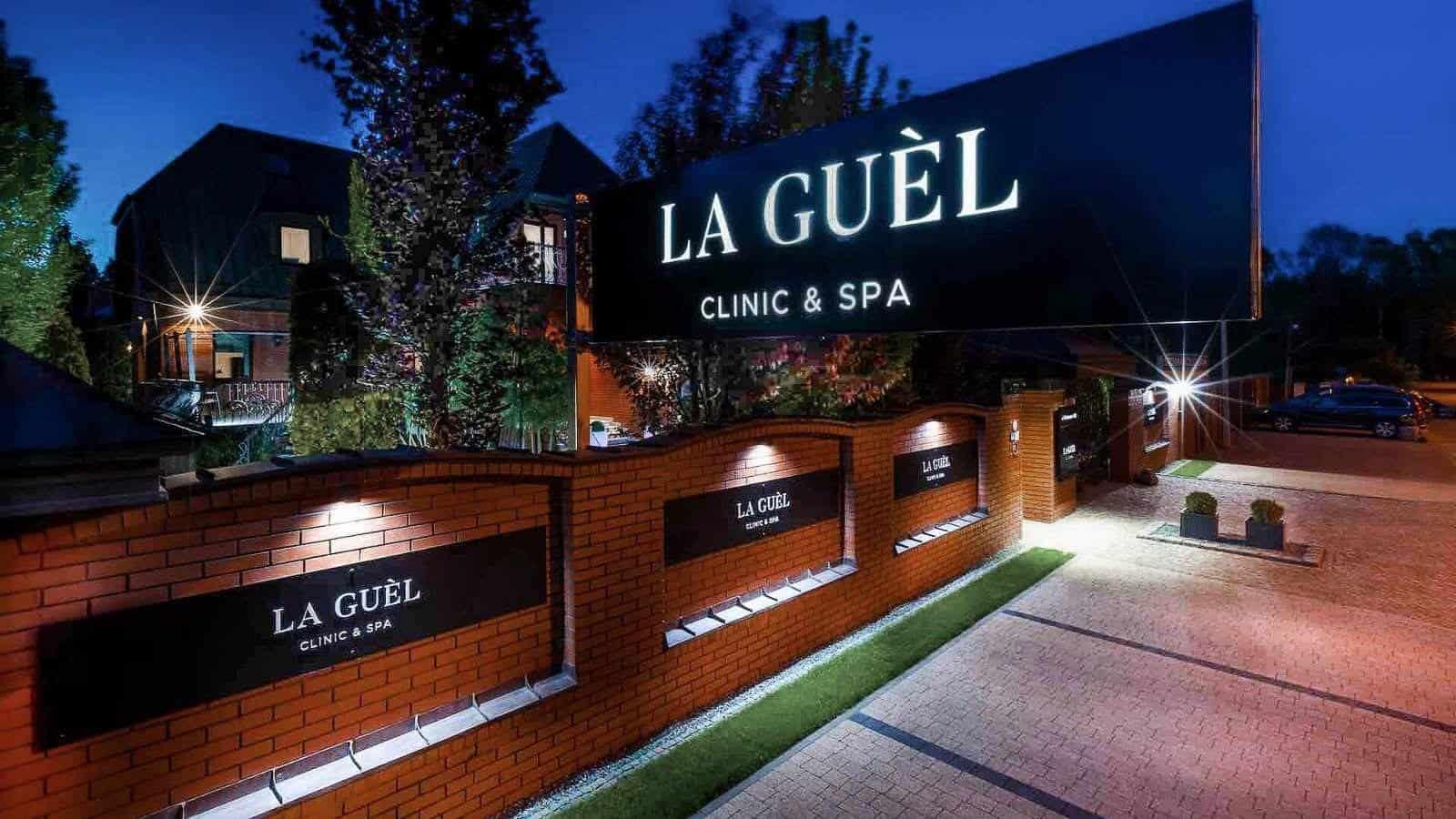 La Guel Klinika z Zewnątrz 2 min KONTAKT